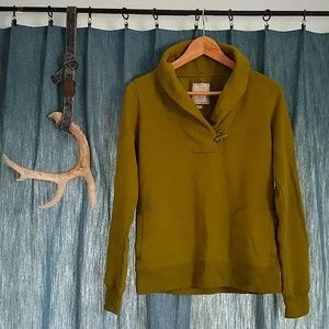 Cozy Green Sweatshirt